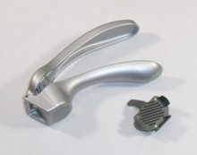 brix testing, garlic press, pampered chef garlic press