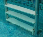 Swimming Pool with highly structured water