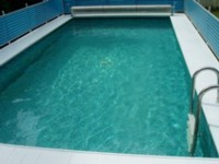 Swimming pool with Ocean Trace and Structured Water