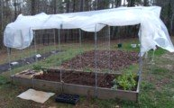 square foot gardening, hoop house, greenhouse