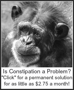 Click here for a great way to solve constipation problems, once and for all, for as little as $2.75 a month!